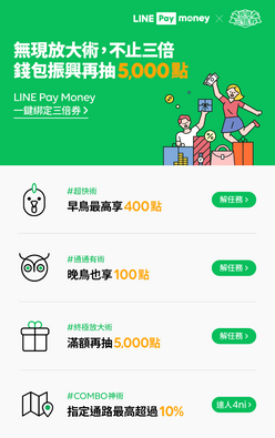 LINE_Pay_Money 一鍵綁定振興三倍券